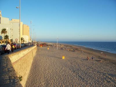 262. La playa estaba desierta...