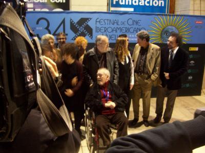 481. Jesus Franco en el Festival de Cine Iberoamericano