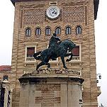Franco, esa estatua